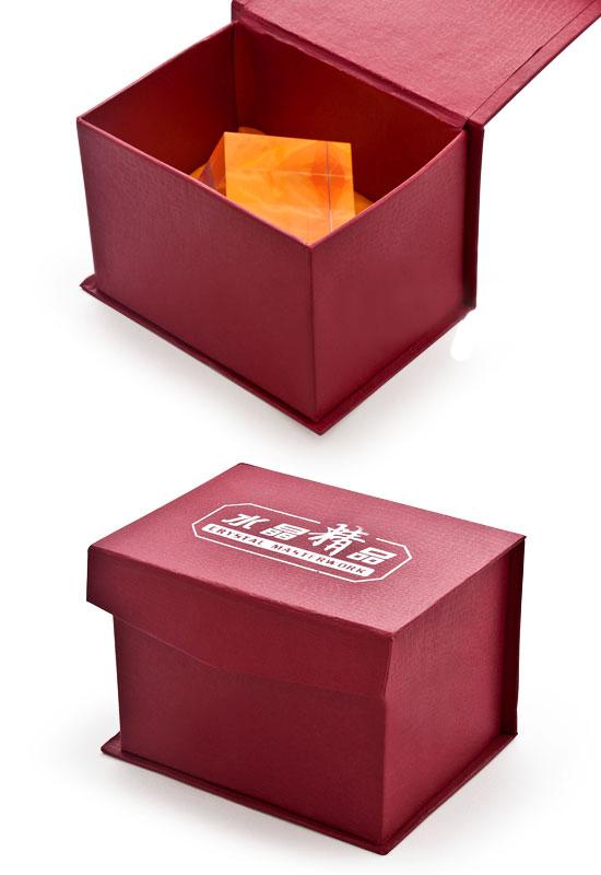 立方体水晶照片魔方包装锦盒
