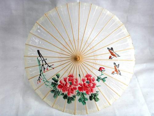 手绘竹伞diy暖场活动